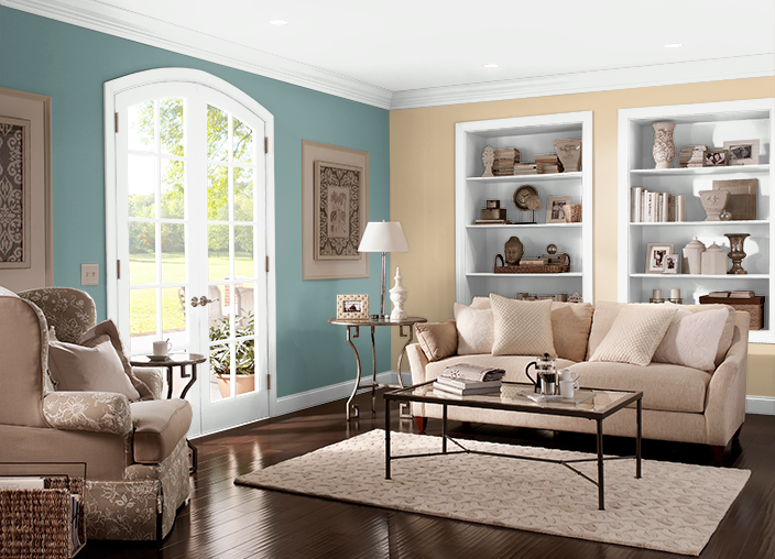 Living Room Colors Behr possible color for living room: behr. shasta lake(m490-7