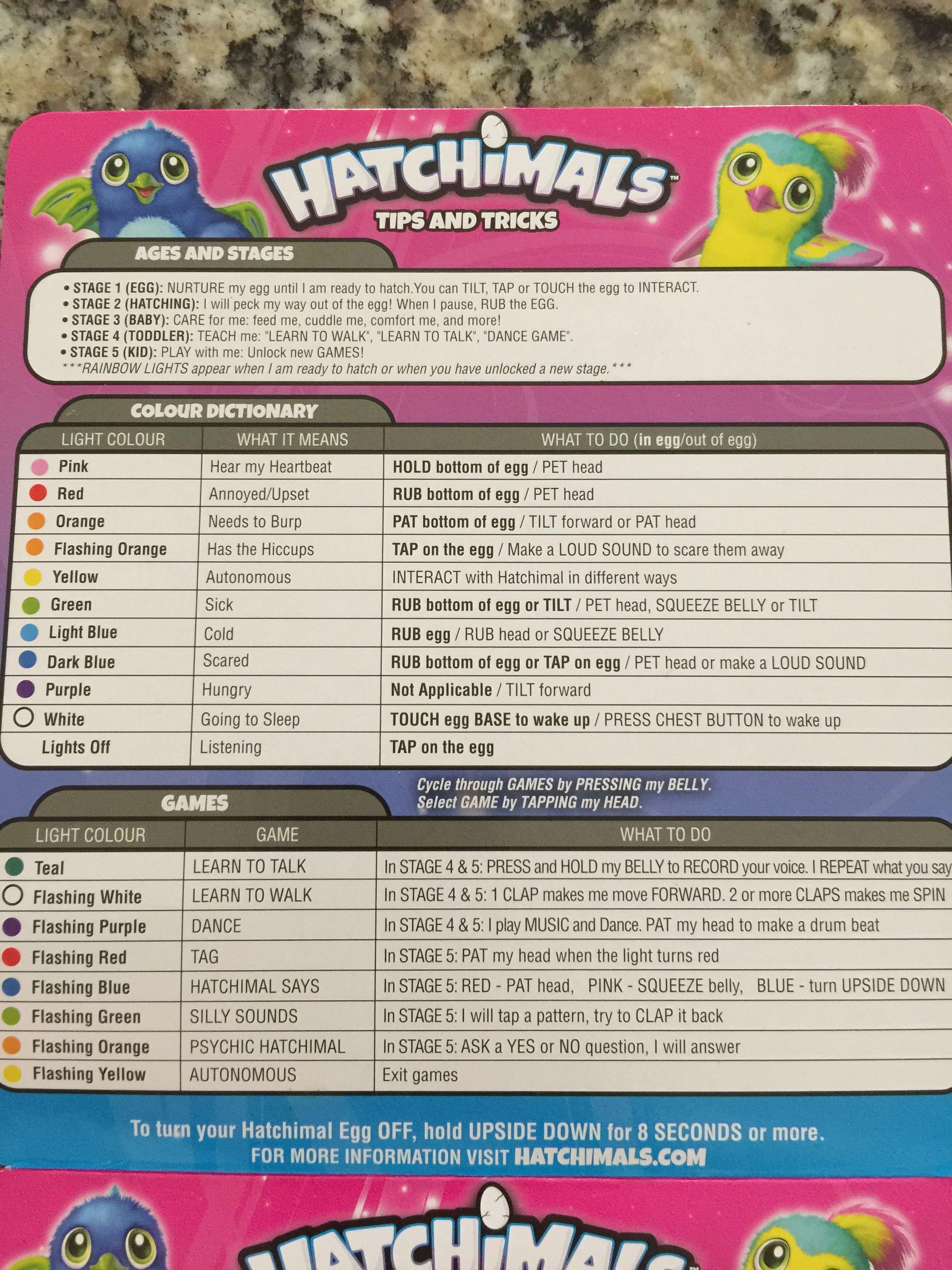 Hatchimals Tips and Tricks Guide Hatchimals, Toddler