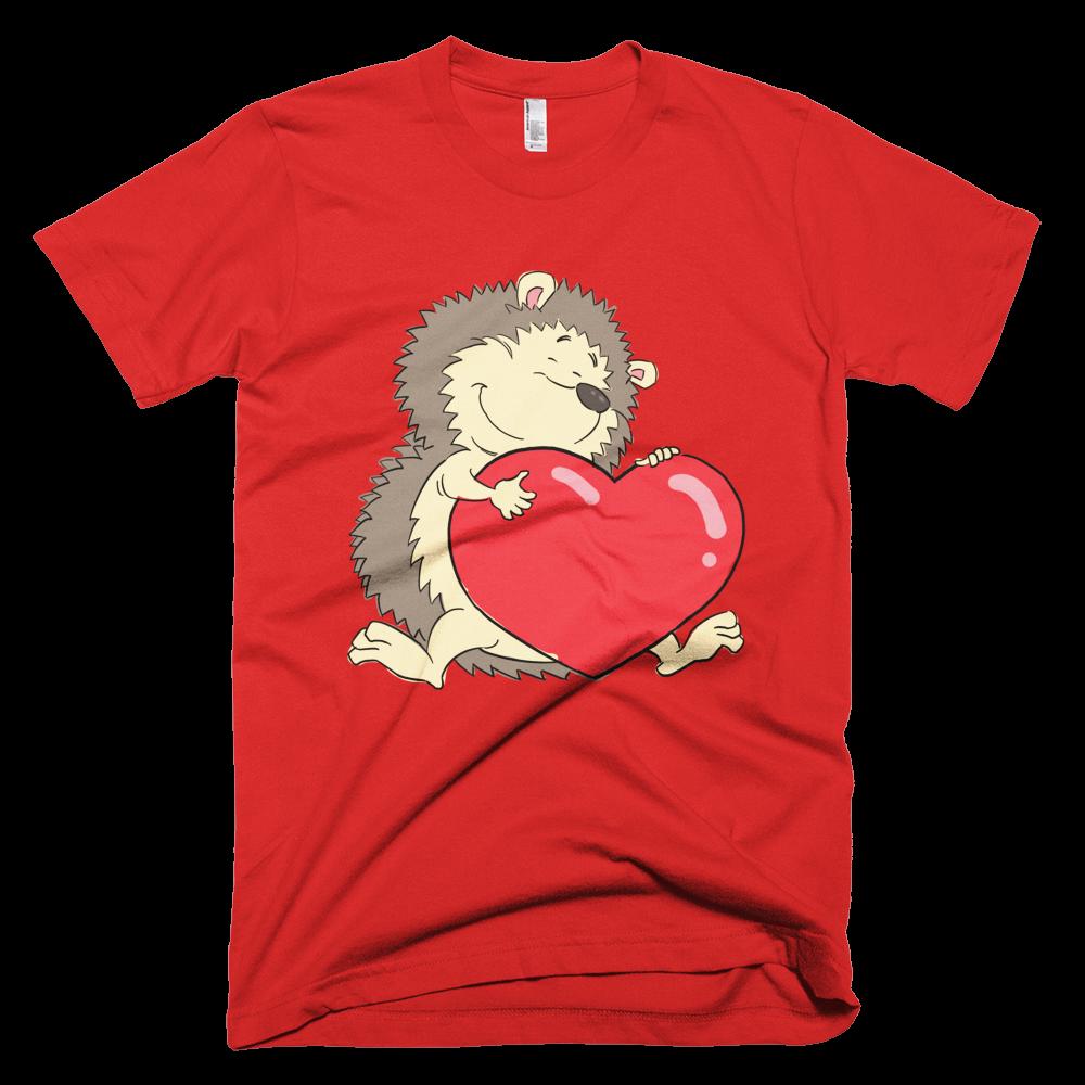 Hedgehog with Heart- Men's T-Shirt