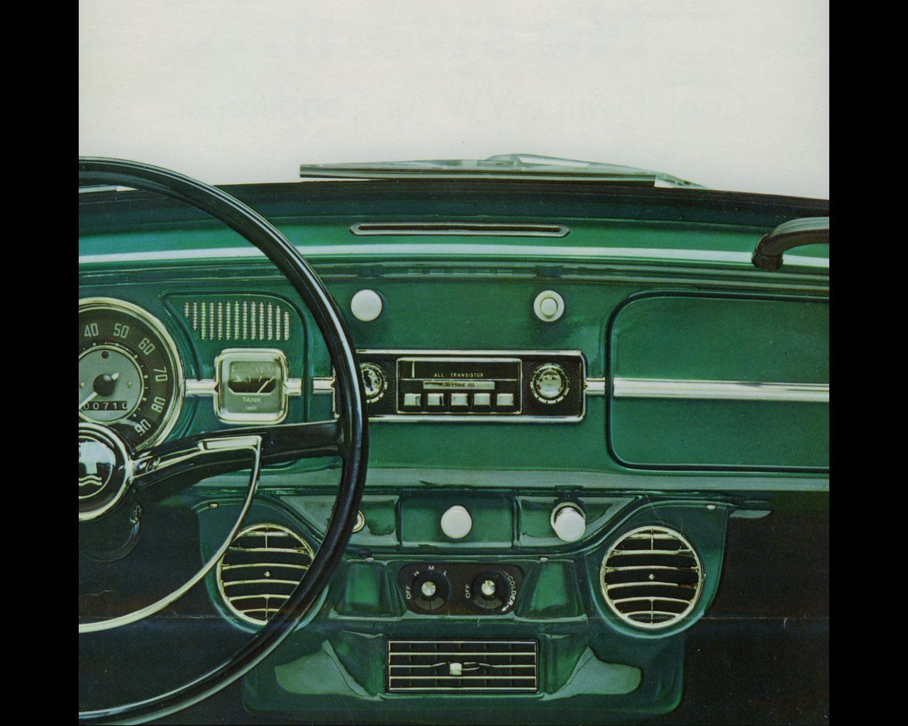 1966 Beetle dash with air conditioning   Air Cooled VWs