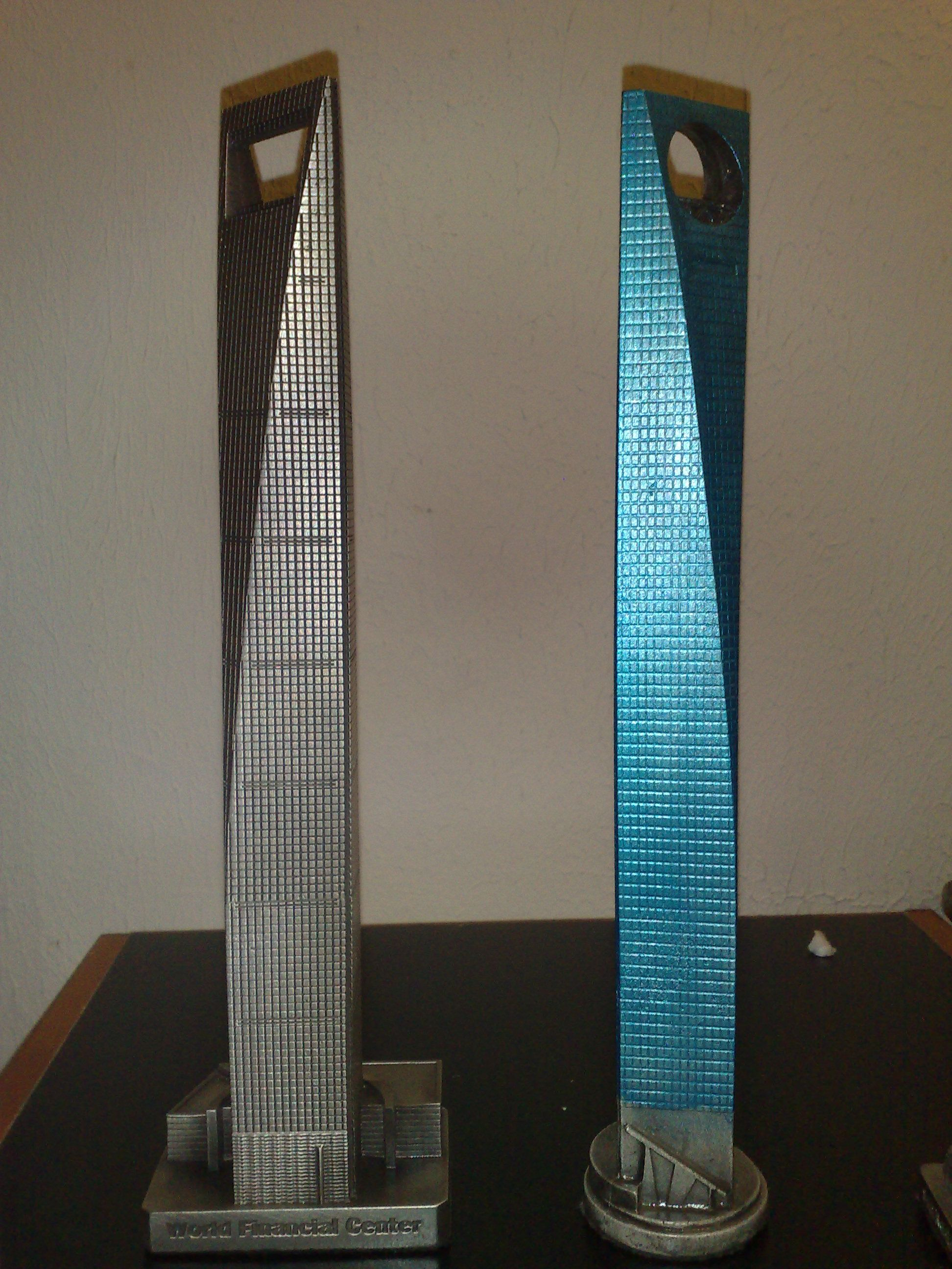 Two Versions Of The Shanghai World Finance Center By Inforcustech Both Replicas Can Be Found T Replicabuildings Com World Finance Interesting Things Cityscape