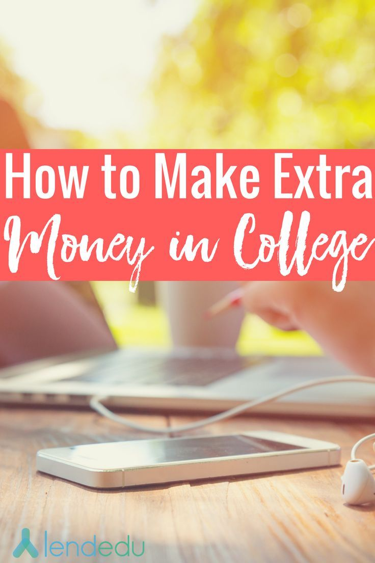 Looking to make extra money in college? Check out these money making tips from people who've been there, done that - and profited! https://lendedu.com/blog/how-to-make-extra-money-in-college