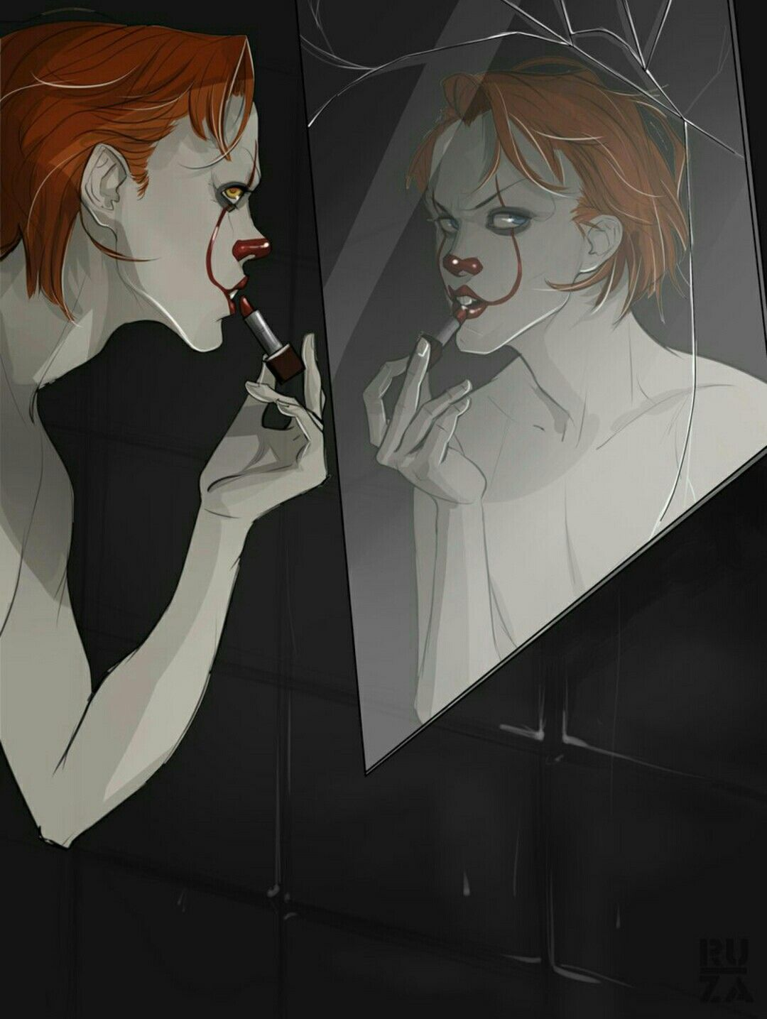 Transformation. It's Those Losers!! Pinterest Horror
