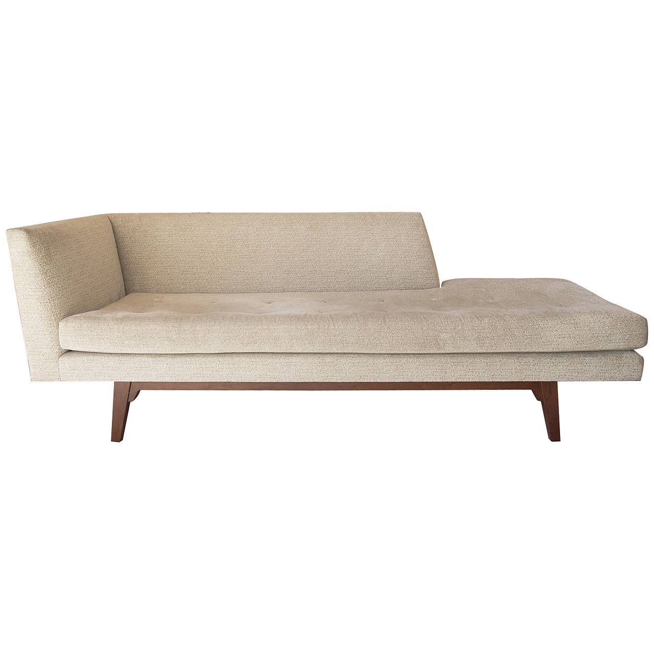 Edward wormley for dunbar chaise longue edward wormley for Antique chaise longues