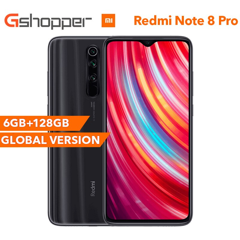 Global Version Xiaomi Redmi Note 8 Pro 6g Ram 128gb Rom Smartphone 64mp Four Rear Camera Mtk Helio G90t Octa Co Display Resolution Xiaomi Cctv Security Systems