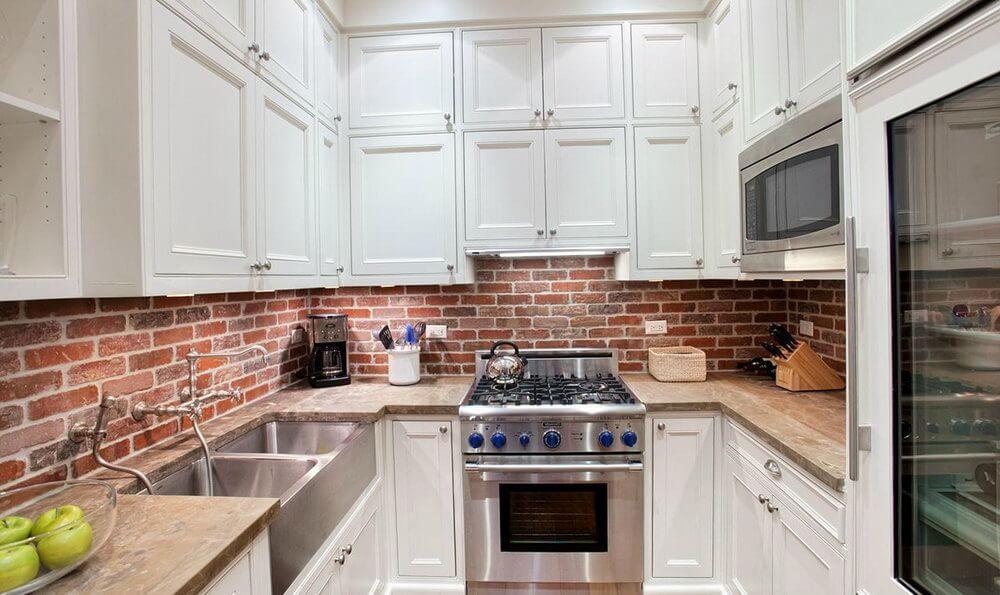 incredible design brick tiles for backsplash in kitchen red brick rh pinterest com Home Depot Kitchen Backsplash Kitchen Backsplash Tile Patterns