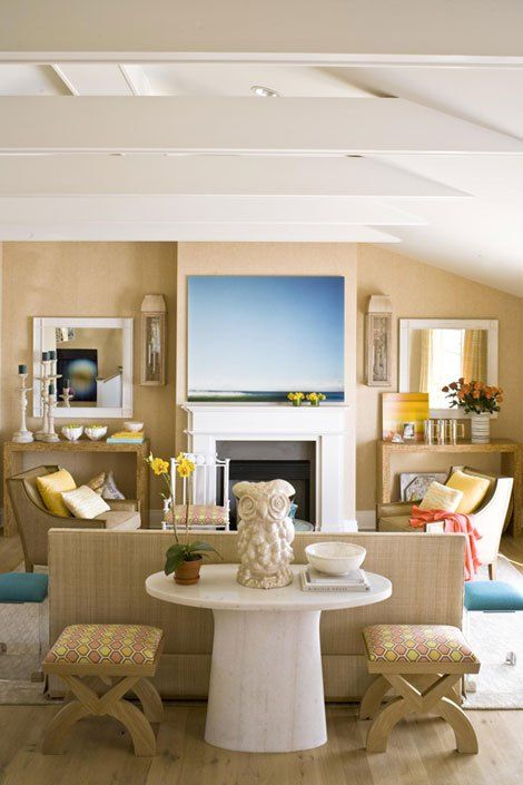How Symmetry Can Bring You Peace visual research 4 Room, Living