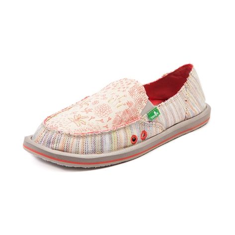 shop for womens sanuk scribble casual shoe multi at