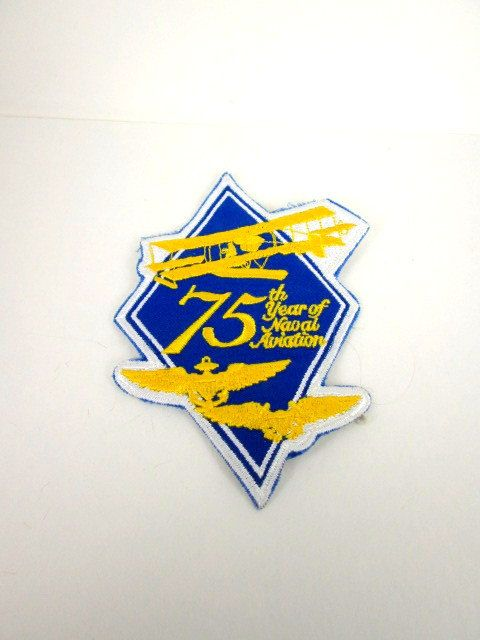 Naval Aviation Patch 75th Year Anniversary US by AVintageStore