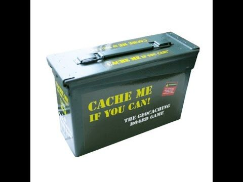 Cache Me If You Can Review Canning, Board games, The