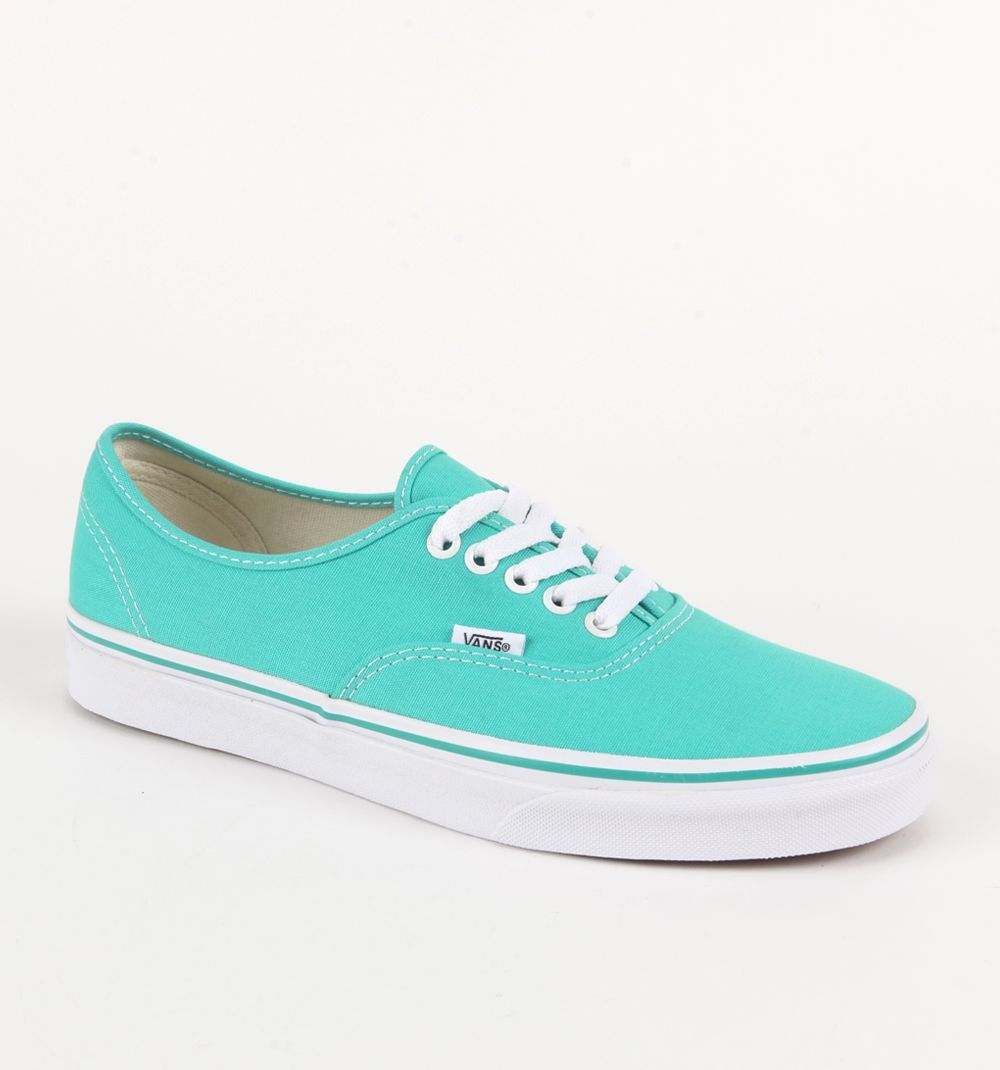 Vans Blue And White Tiffany blue vans.