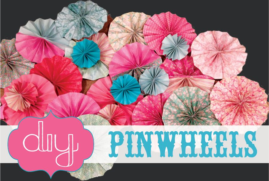 images about Cricut Pinwheels and other paper pinwheels on