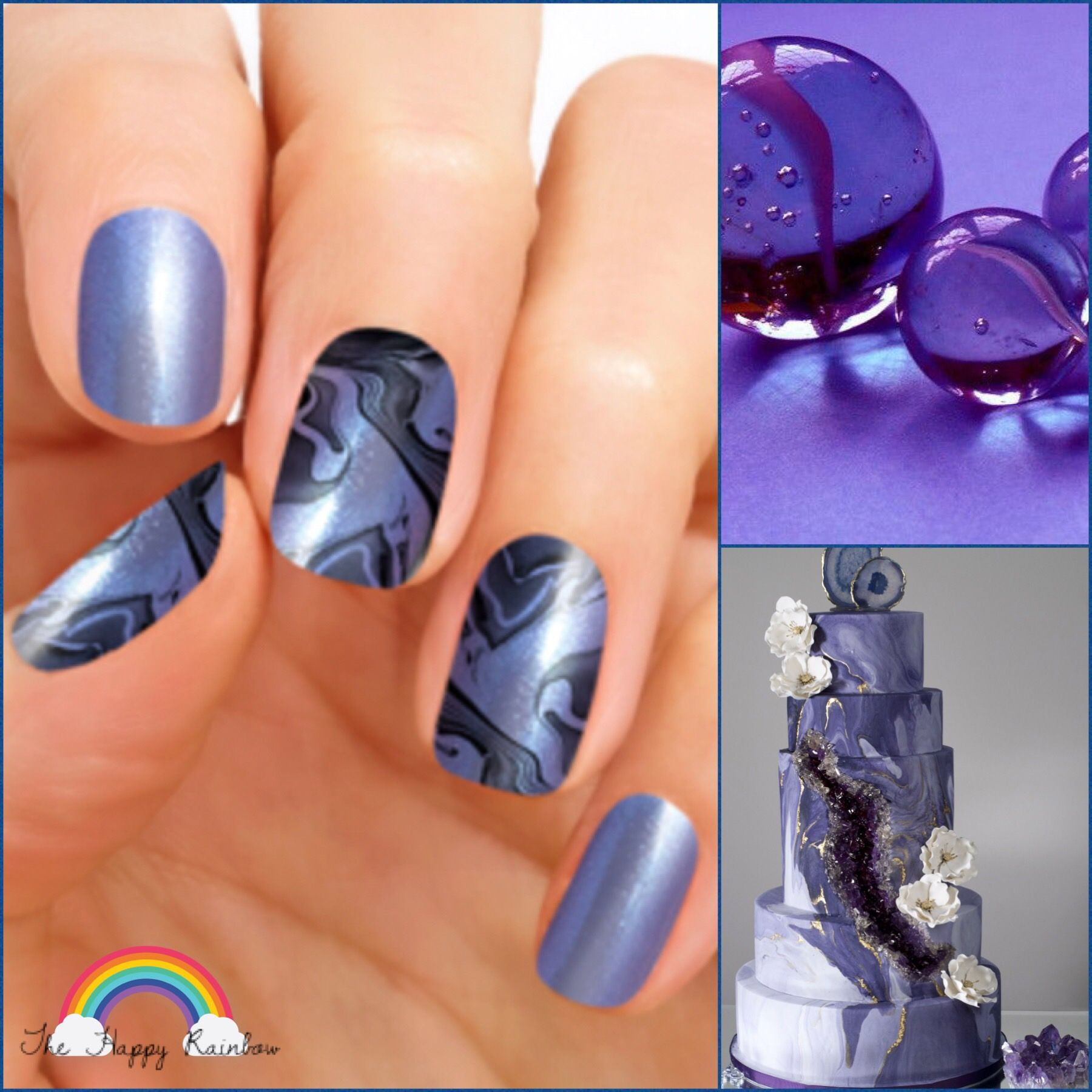 Wow Everyone This Fall And Winter With Marble Nail Art You Can Do