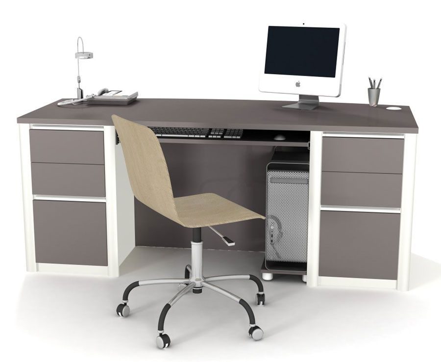 23 cute and simple simple office table design to pick for Simple office design