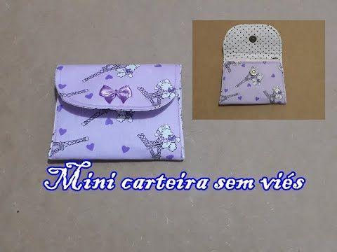 Photo of Pap- Mini carteira sem viés (fácil)