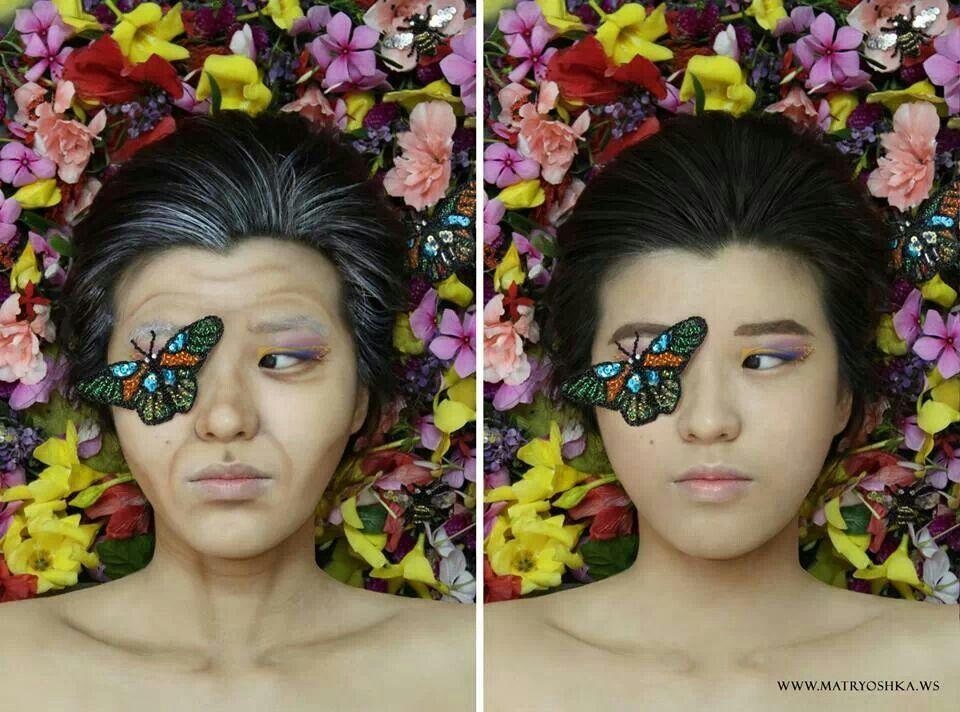 Metamorphosis By Matryoshka Www Matryoshka Ws Fashion Makeup Hair Makeup Sunglasses Women