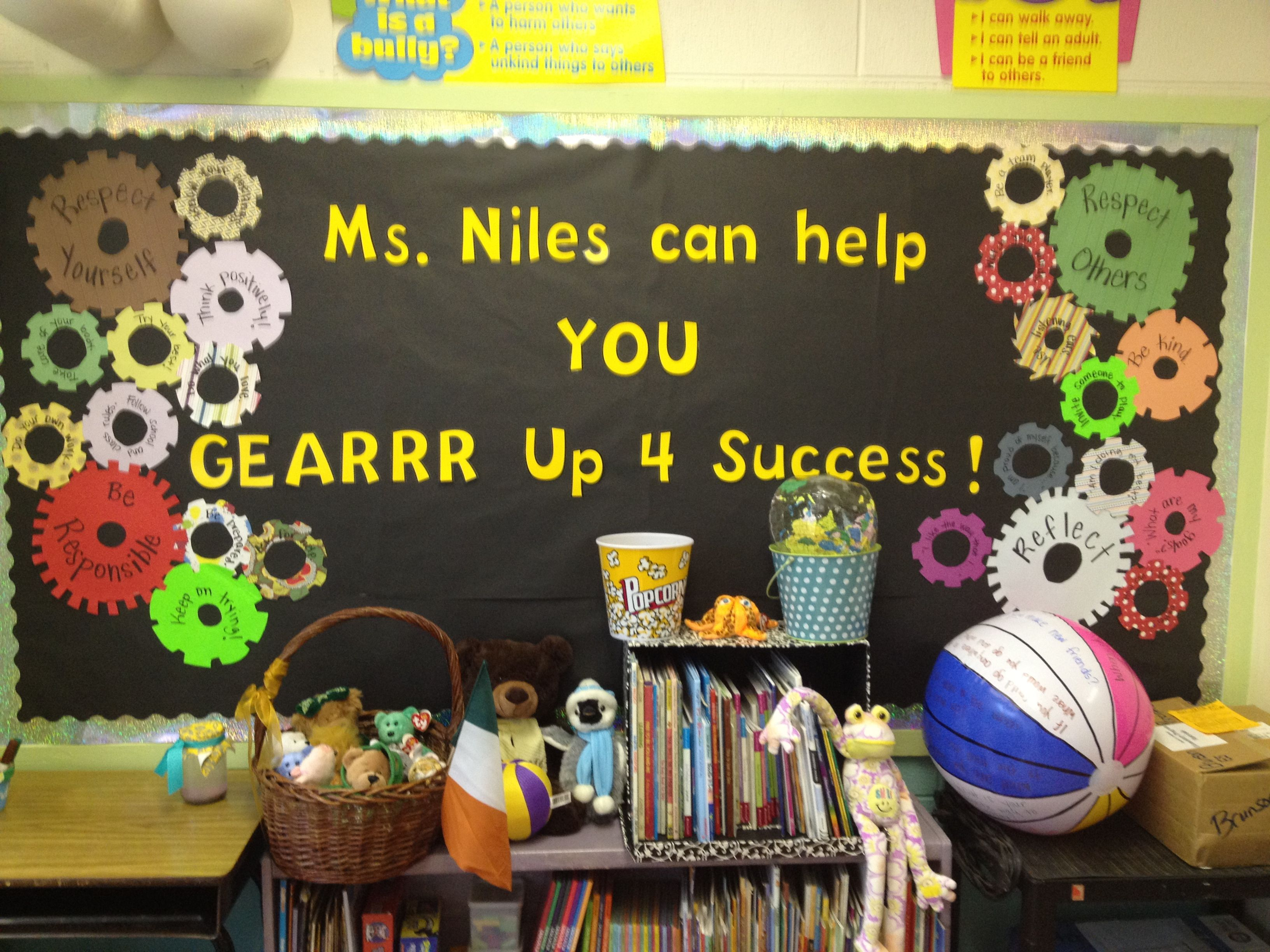 Bulletin Board. Incorporating School' Pbis
