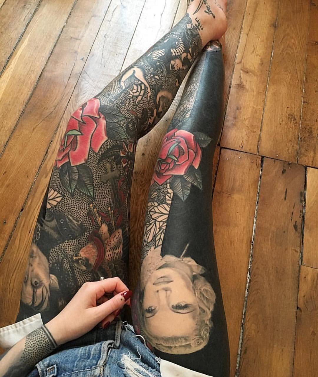 how to make a sleeve tattoo flow