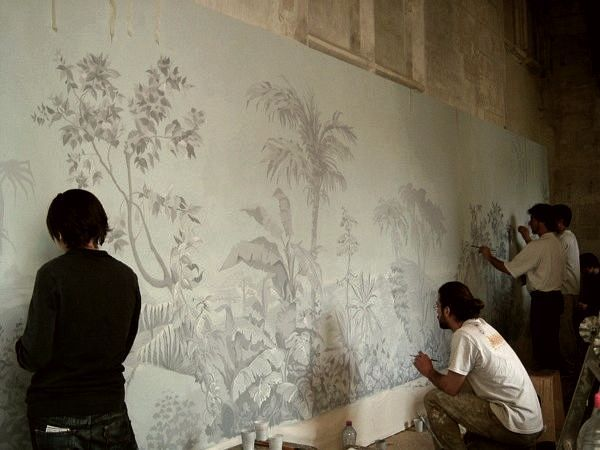 All About The Exquisite Enigmatic Art Of Grisaille Wall