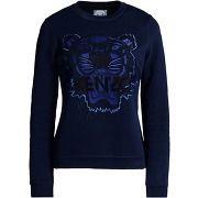 cf6c824ccedf Kenzo sweats femme sweatshirts sur thecorner.com , 100% coton. couleurs  bleu  foncé