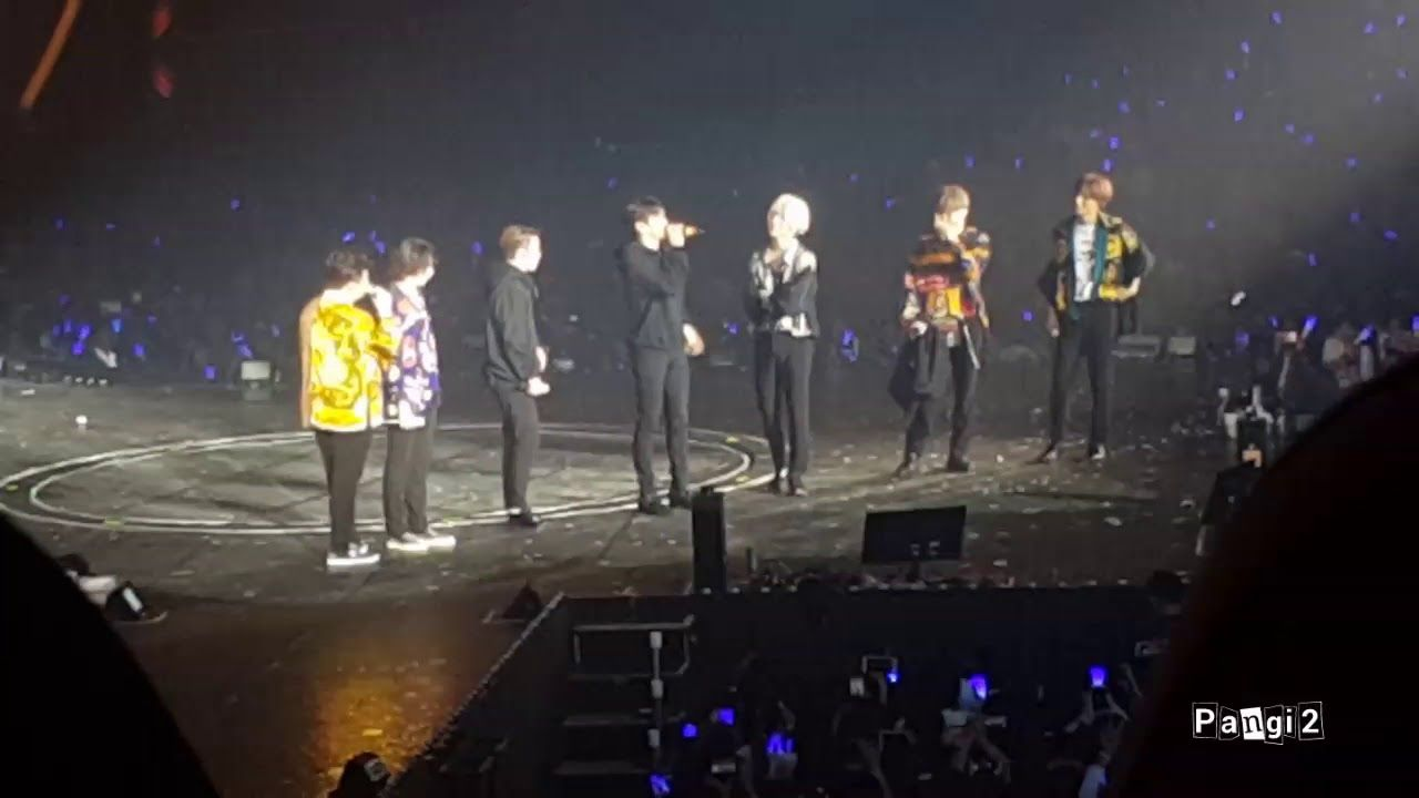 180128 Super Junior Super Show 7 in BKK - Last Ment