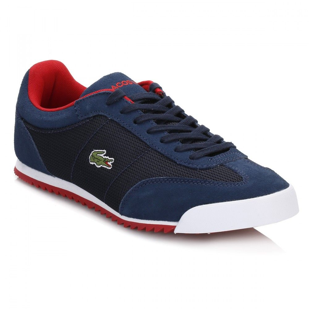 Lacoste Mens Navy Romeau Trainers