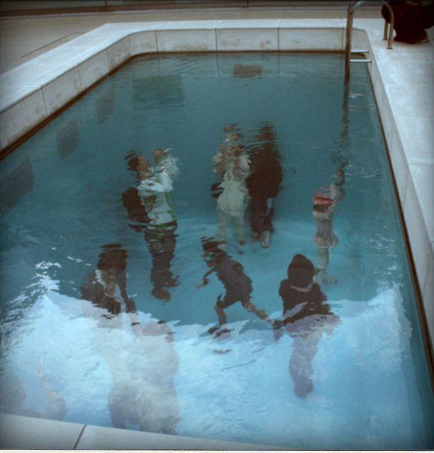 Swimming Pool Art Installation By Leandro Erlich Gallery Shower Installation Pinterest