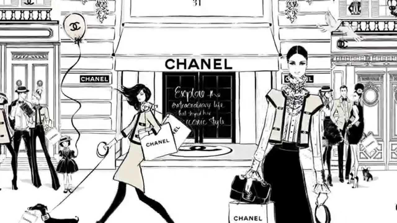Coco Chanel: The Illustrated World of a Fashion Icon by Megan Hess ...