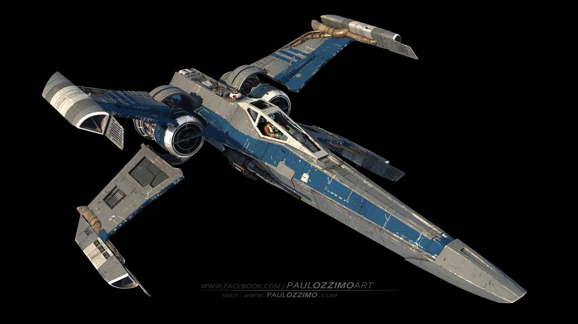 X Wing Concept Exploration Paul Ozzimo Star Wars Vehicles Star Wars Ships Star Wars Ships Design