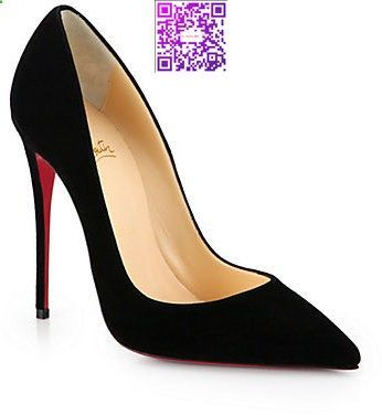 Free Shipping So Kate 120 Suede Pumps - Black Christian Louboutin Good Selling Online Cheapest Affordable Online Best Sale 1JINMn7