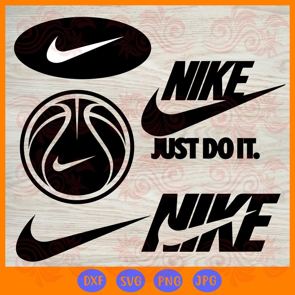 Nike SVG Files For Silhouette, Files For Cricut, SVG, DXF