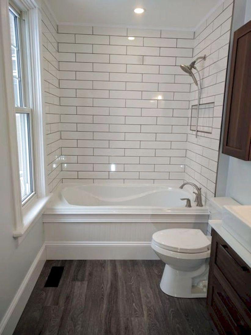99 Best Farmhouse Bathroom Remodel Decoration Ideas Farmhouse Bathroomremodel Small Full Bathroom Full Bathroom Remodel Bathroom Remodel Master