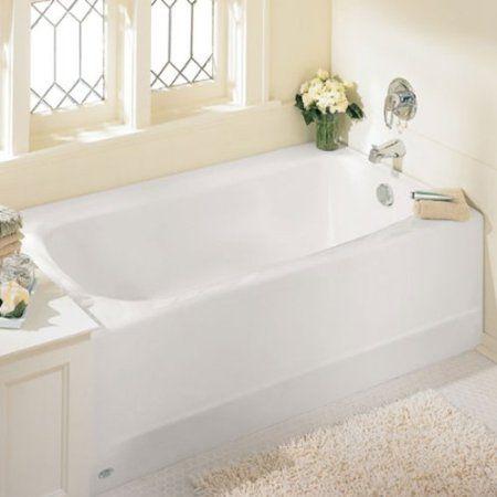 American Standard 2461.002.020 Cambridge 5-Feet Bath Tub with Right-Hand Drain, White - Recessed Bathtubs - Amazon.com