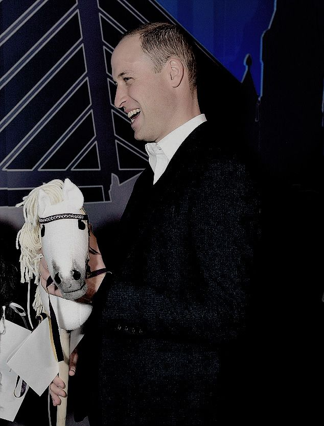 The Duke of Cambridge - mr-mrswales:   The Duke of Cambridge is given two...