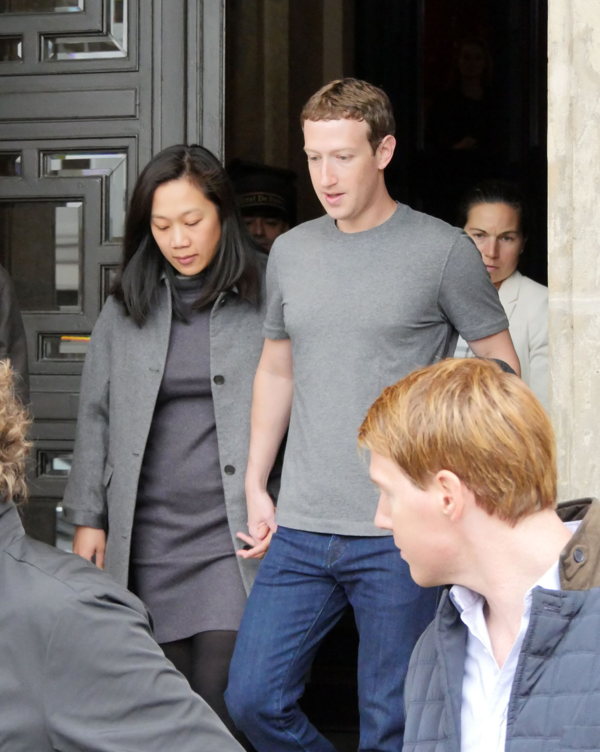 Mark Zuckerberg and his wife Priscilla Chan are expecting