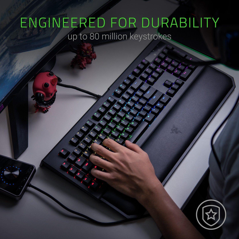 Razer BlackWidow Chroma V2: Esports Gaming Keyboard - Ergonomic