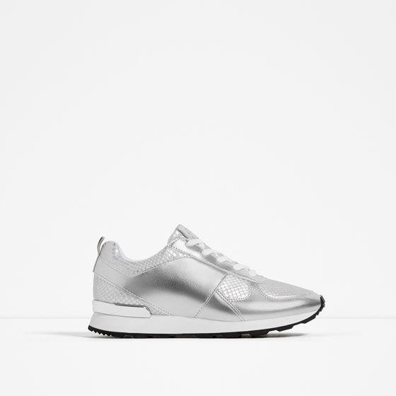 In 1 ZaraShopping Sneakers Of Metallic From 2019 Image gyvm6bfIY7