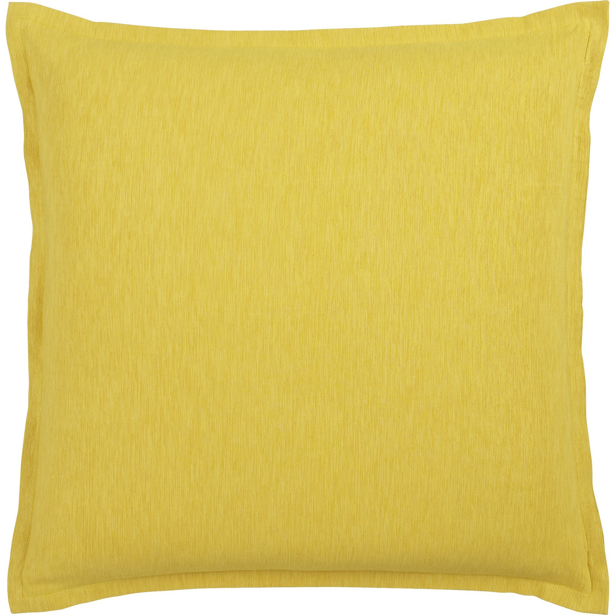"Linden Yellow 23"" Pillow in Decorative Pillows 