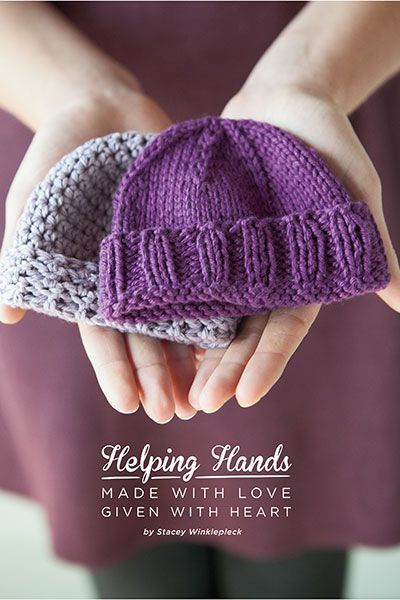 Download the FREE Crochet and Knitting patterns in the Helping Hands ...