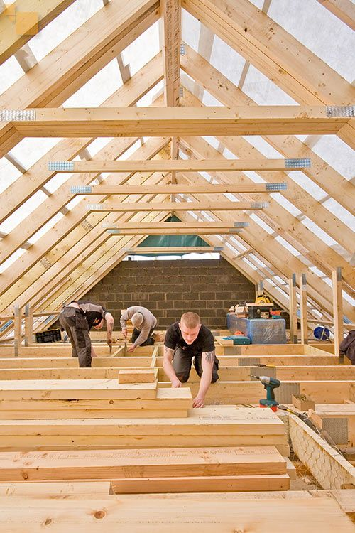 The Truss Roof Conversion & The Truss Roof Conversion | Porches Garages u0026 Attics | Pinterest ...