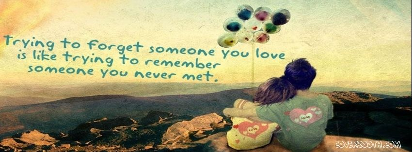 Trying to forget someone you love is trying to remember someone you trying to forget someone you love is trying to remember someone you never met cool love cool love quotescute quotesfacebook profilefacebook timelinehappy thecheapjerseys Image collections