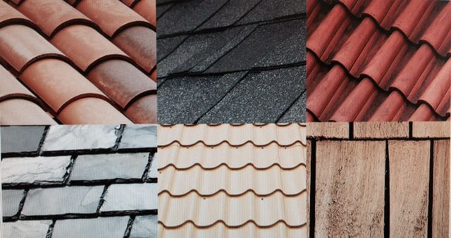 Roof Types Asphalt Wood Shingles Most Popular 20 30 Year Guarantee Rolled Roofing Outbuild Types Of Roofing Materials Roof Renovation Roofing Materials