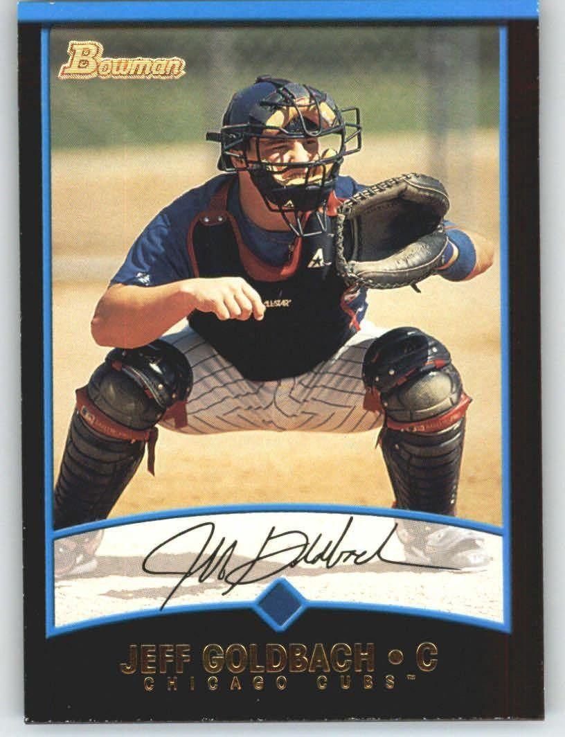 2001 Bowman 314 Jeff Goldbach Chicago Cubs (Baseball