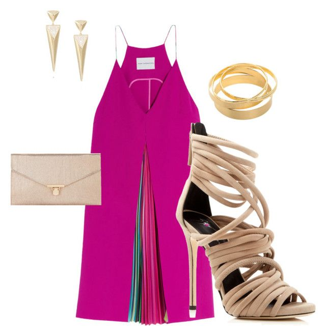 """""""Untitled #25"""" by renadagreer on Polyvore featuring Mary Katrantzou, Giuseppe Zanotti and Accessorize"""