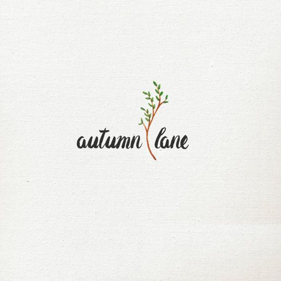 Pre-Made Logo Premade Logo Branch Logo by AutumnLanePaperie