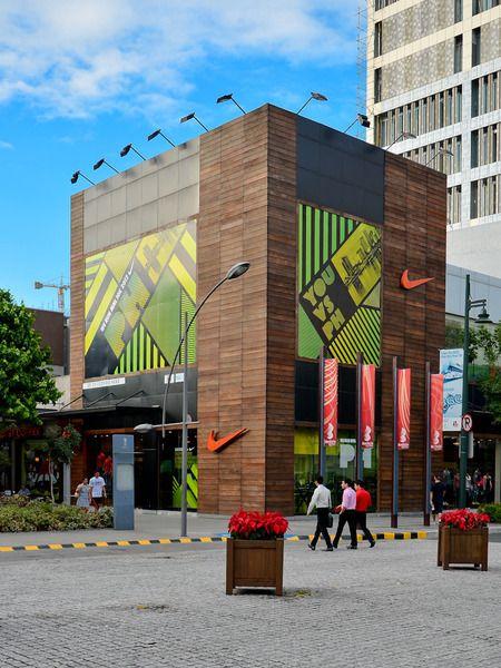Nike Store, Bonifacio High Street, Taguig Architects: Altoon + Porter, in  collaboration