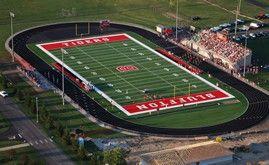 Artificial Turf Football Fields From A Turf Football Field High