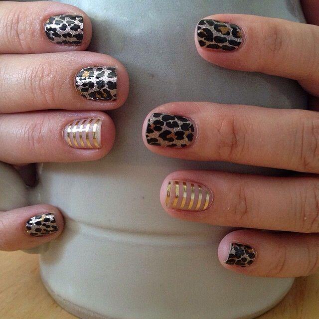 Gilded Leopard Jamberry Nails https://pacificjams.jamberry.com ...