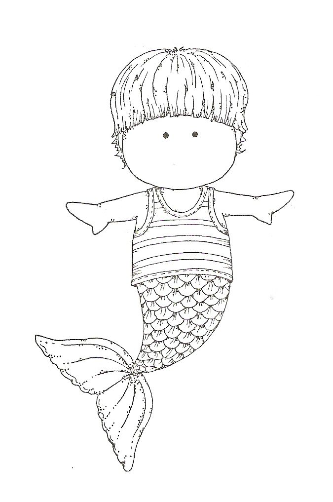 Mermaid Coloring Page Things We Think Are Super Cool Over Here At