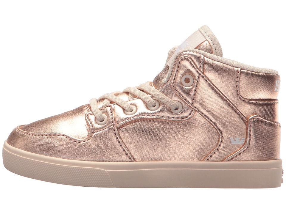 503e9b473a7b Supra Kids Vaider (Toddler) Kids Shoes Rose Gold Whisper White